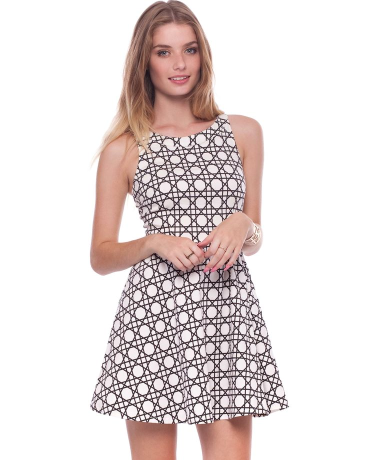 Strappy Back Fit & Flare Dress by Ezra Online   THE ICONIC   AustraliaStrappy Back Fit & Flare Dress by Ezra Online   THE ICONIC   Australia
