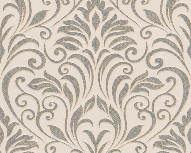 as cration tapete 328343 tapete beige creme metallics klassik flur - Schlafzimmer Creme Beige