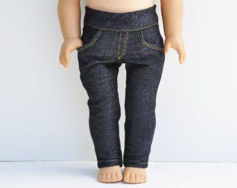 Puppe American Made Girl Doll Röhrenjeans von LoriLizGirlsandDolls