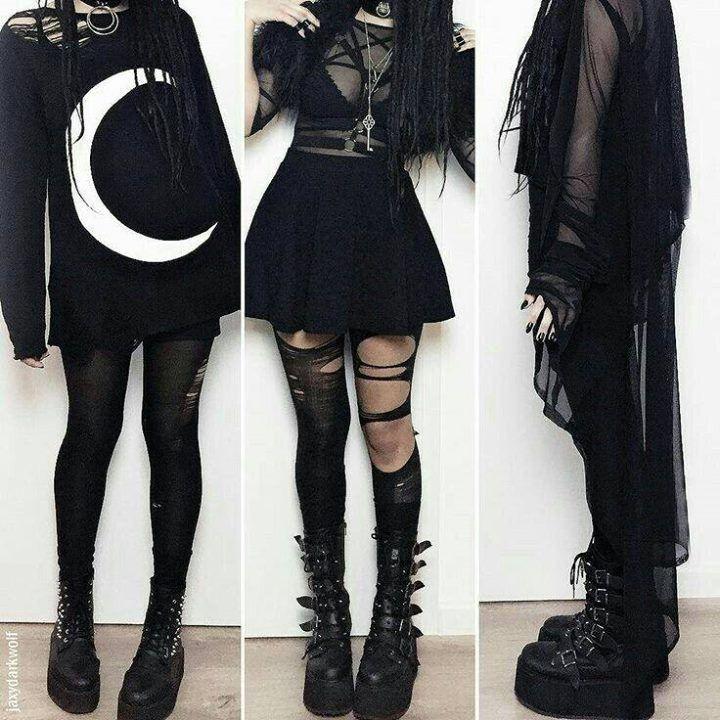 gothic fashion dresses