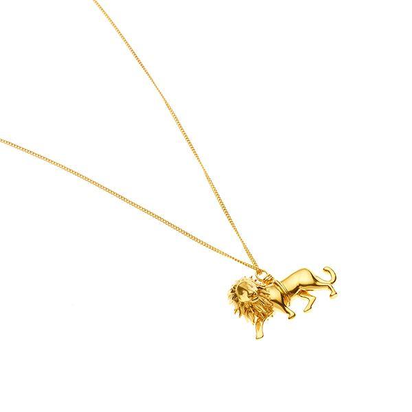 PUSHMATAAHA // Leo Pendant / Gold Plate