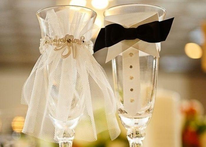 結婚式用『グラスドレス』の可愛いアレンジと作り方*