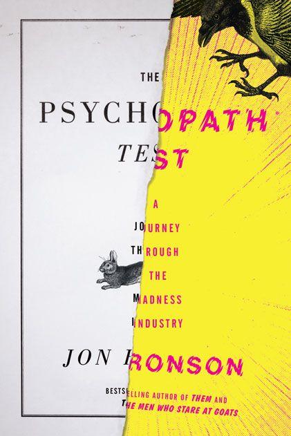 Speeding through Jon Ronson's The Psychopath Test at the moment. Compulsive reading.