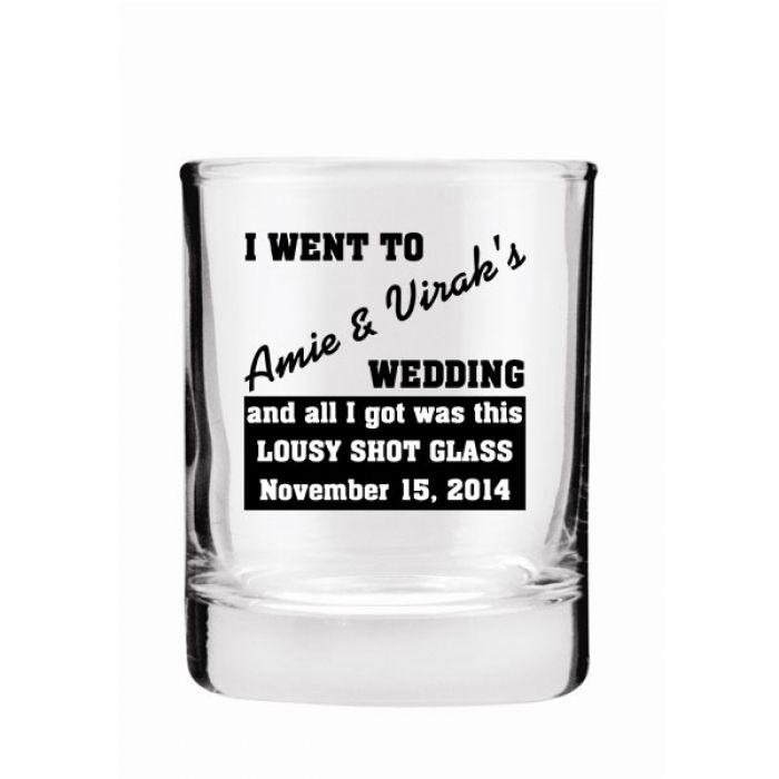 3oz Whiskey Rocks Glass | Print Canada Store