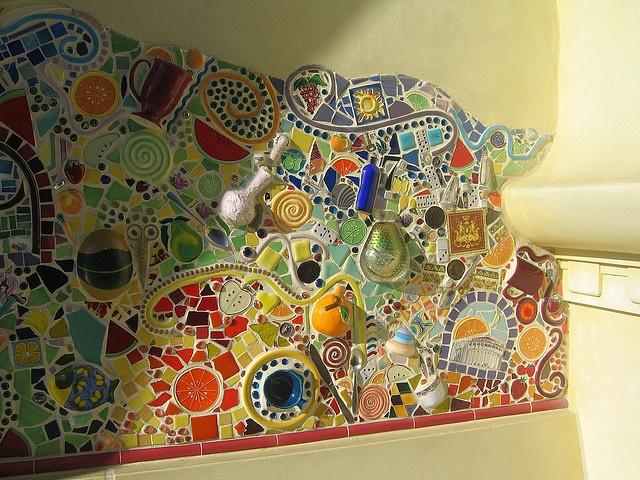 Ceramic mosaic - Disneyland CA