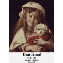 Cross Stitch Set - Dear Friend