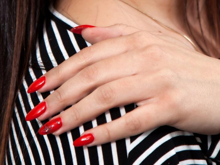 ładny manicure