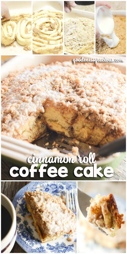 Cinnamon Roll Coffee Cake is the perfect easy breakfast recipe to go with your favorite cup of coffee. This recipe would be a so simple to throw together for the holidays. #FolgersInIndy #ad