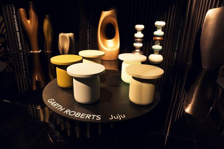 @serralungaItaly  prezentowała się na targach Salone del mobile w Mediolanie. #meble #siedziska #pufy #stoliki #stolik #kolor #pastelowe #juju #isaloni #salonedelmobile2016 #salondelmobile #isaloni2016  #rhofiera #fieramilano #serralunga