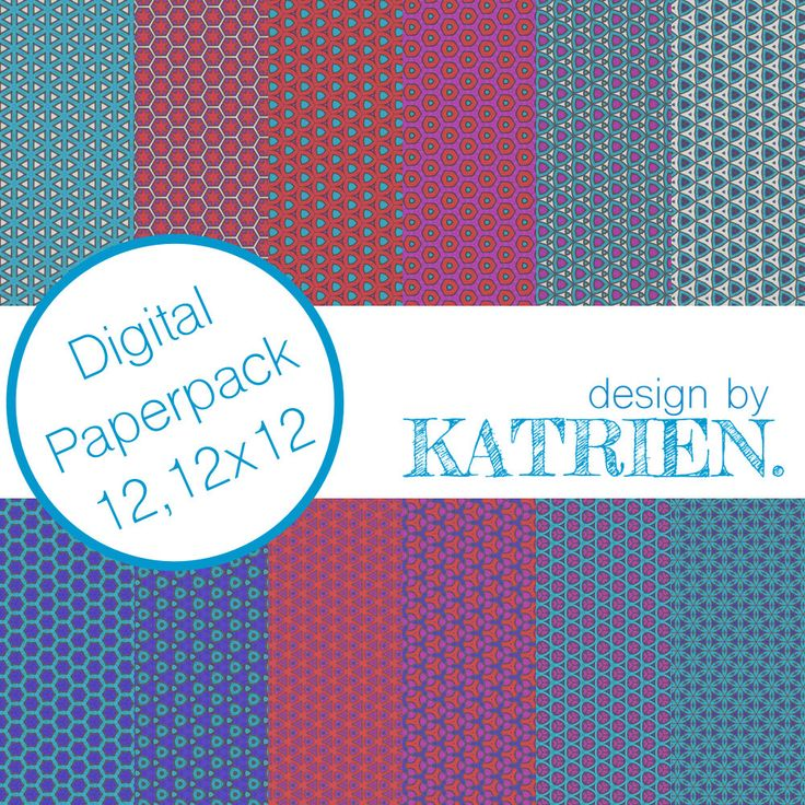 Digitale papier Pack, digitale Scrapbook papier, digitale patronen, Instant download, roze/blauw/Turquoise (0001) door DesignbyKatrien op Etsy https://www.etsy.com/nl/listing/515157119/digitale-papier-pack-digitale-scrapbook