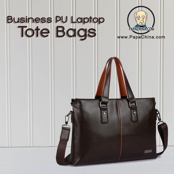 A direct marketing campaign will save you money on advertising when you use a Business PU Laptop Tote Bags. Able to be used for carrying things, your prospects and clients will use it often and be exposed to your imprinted brand when they do.