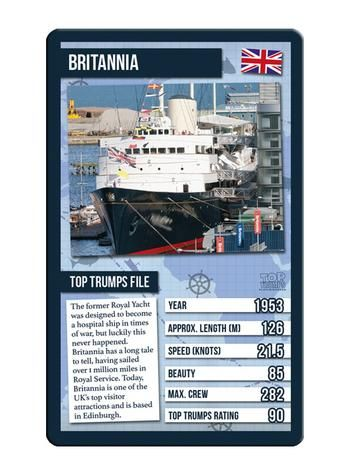 Top Trumps - World Famous Ships Card Game Preview 4
