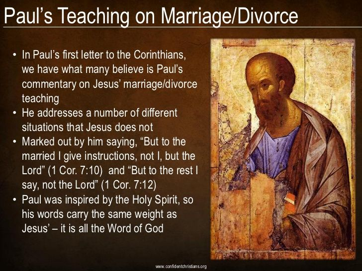 paul s first letter to the corinthians paul s teaching on marriage divorce in paul s 23914