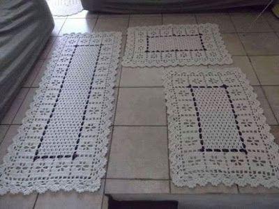 passadeira de croche