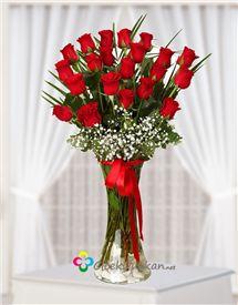 Aşk ın büyüsü kırmızı güller..