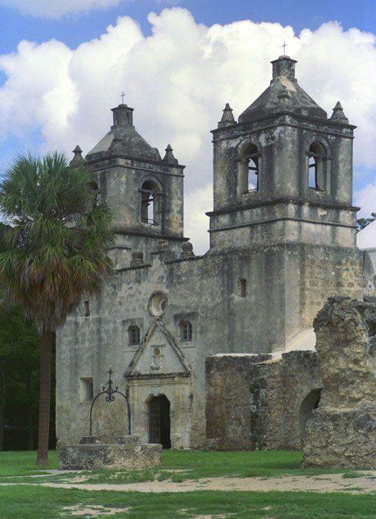 Mission Concepcion, San Antonio Missions Nat'l Historical Park, Texas