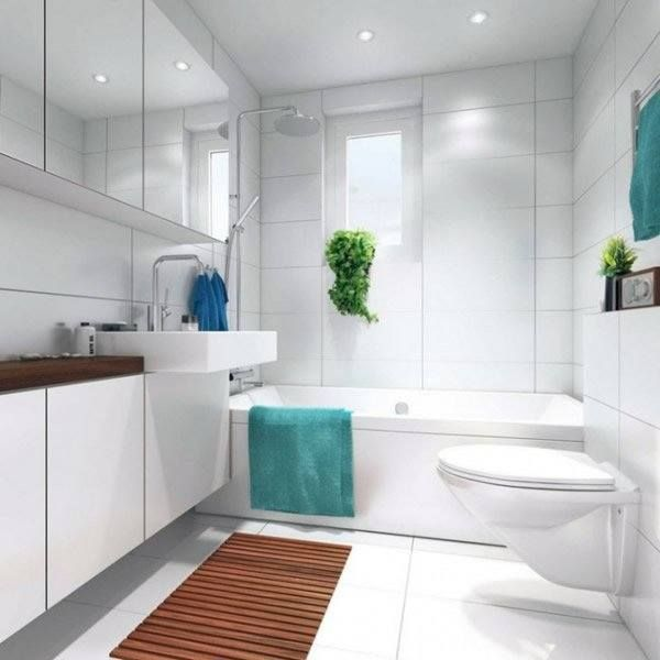 Before re-modeling a small bathroom, browse photo gallery for floor plan layouts and interior design ideas to get you inspired for your next project.