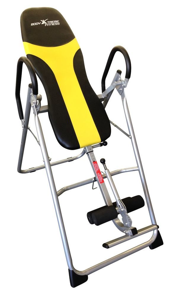 Body Xtreme Fitness Inversion Table, Back Therapy Health Back Pain #FITNESS