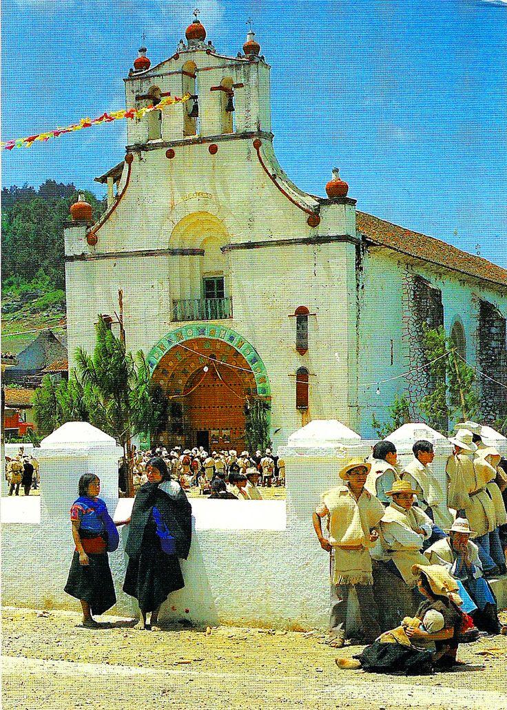 Churches in Mexico: . Chamula, Chiapas, México