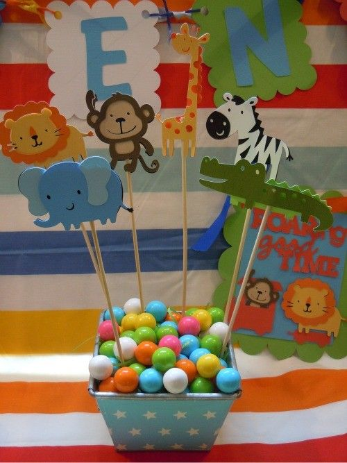 zoo party theme