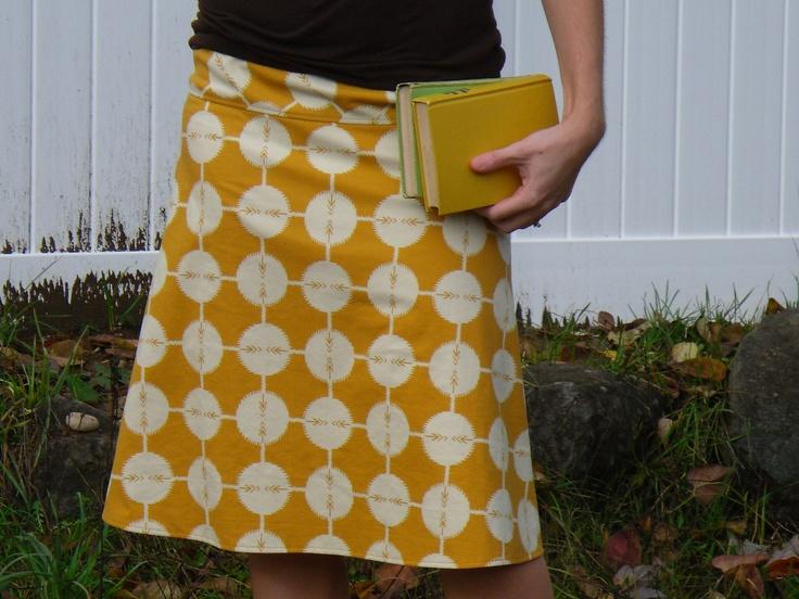 mustard yellow a line skirt ultra soft velveteen