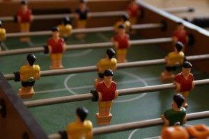 Foosball table Nissan Qashqai promotional item UEFA champions league | Gameroom Equipment Online Shop