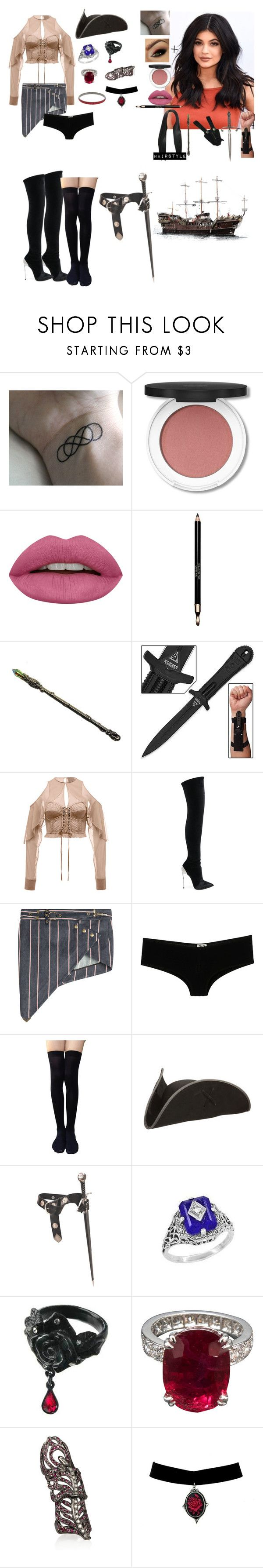 """Spencer Returns to MeadowCliff to finish her Training and continue her job as 'The Scarlet Pirate'"" by andyarana ❤ liked on Polyvore featuring MANGO, Huda Beauty, Clarins, Puma, Casadei, Anthony Vaccarello, D&G, Lazuli, Loree Rodkin and Bensimon"