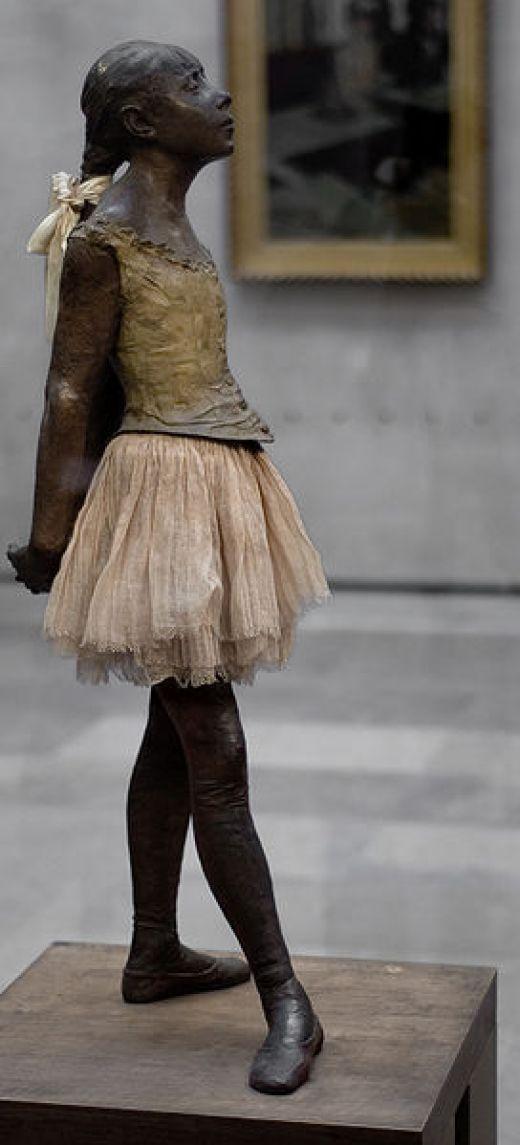 "❥ ""The Little Dancer"" by Edgar DegasSculpture, Little Ballerinas, Real Life, Art Museums, Paris France, Impressionist Painting, Ballet, Edgar Degas, Muse D Orsay"