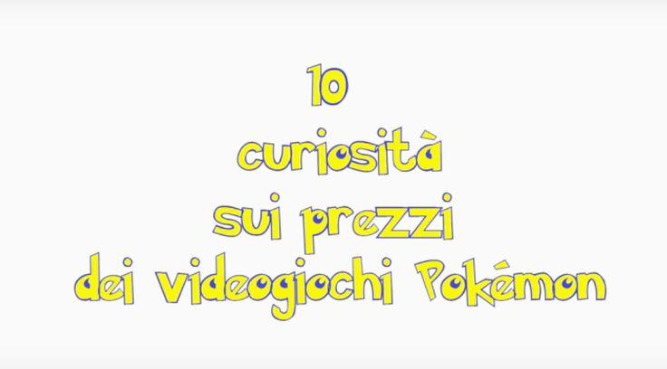 In questo video andremo a vedere 10 curiostià sui prezzi dei videogiochi Pokémon!