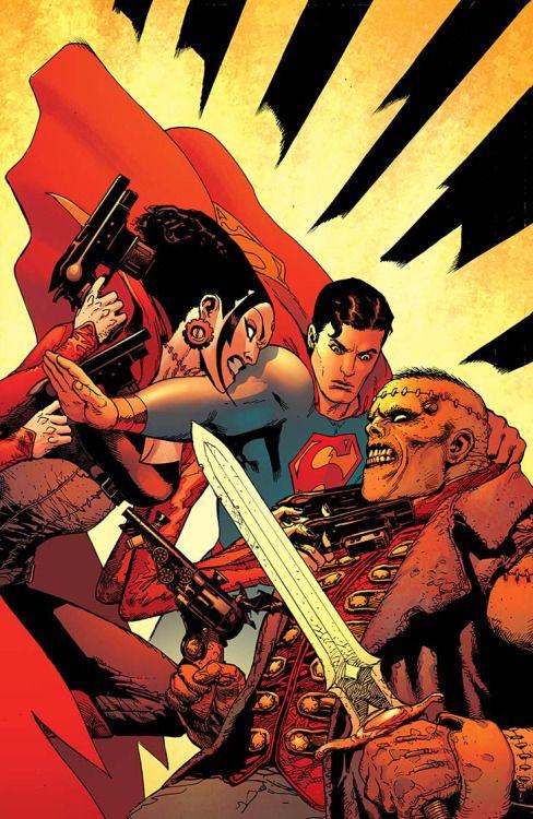 "comicsodissey: ""SUPERMAN #13 """