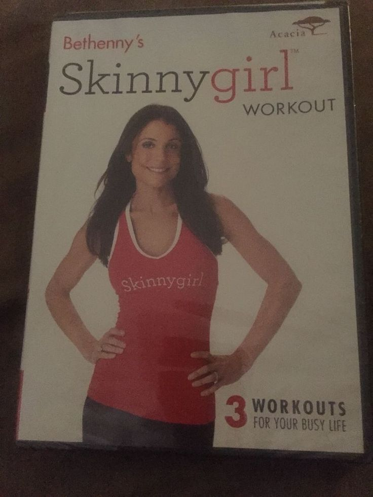 BETHENNY FRANKEL SKINNY GIRL WORKOUT YOGA DVD NEW SEALED EXERCISE FITNESS