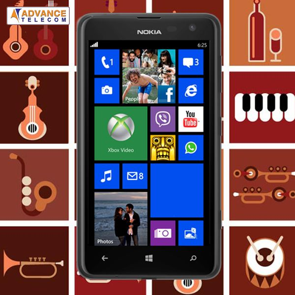 If Music be the food of love, then play on as the music note goes on the #NokiaLumia625!