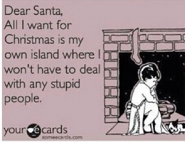 I can\'t stress how much I hate people. My Christmas wish! | Quotes ...