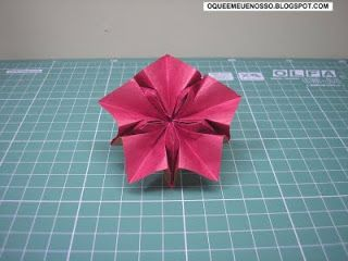 WHAT'S MINE IS OUR: Origami - Star 10 Tips - Ten Pointed Star - Philip Shen
