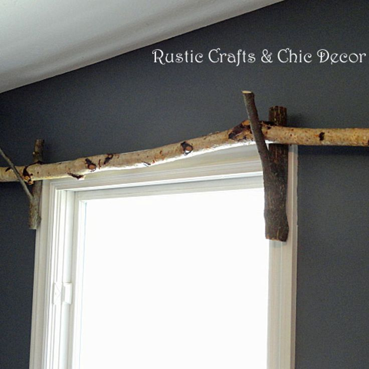 DIY Curtain Rod Idea  klee  Diy curtain rods Diy