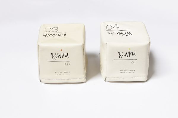 package / perfume / + rewind by Margaret Chan