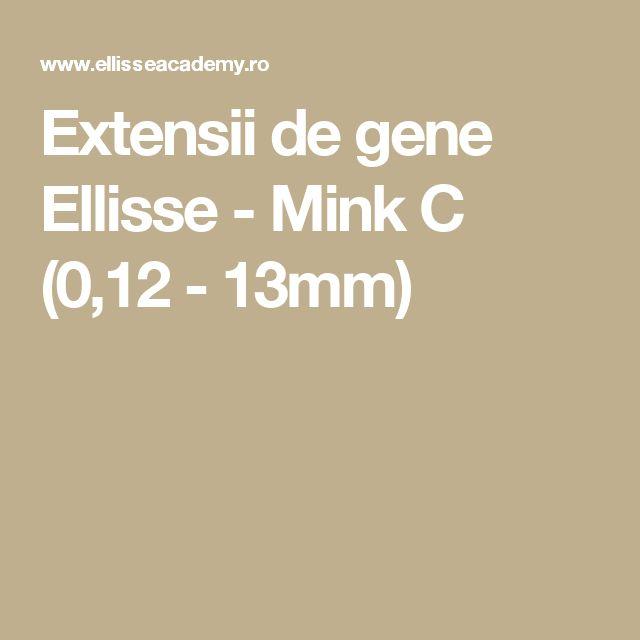 Extensii de gene Ellisse - Mink C (0,12 - 13mm)