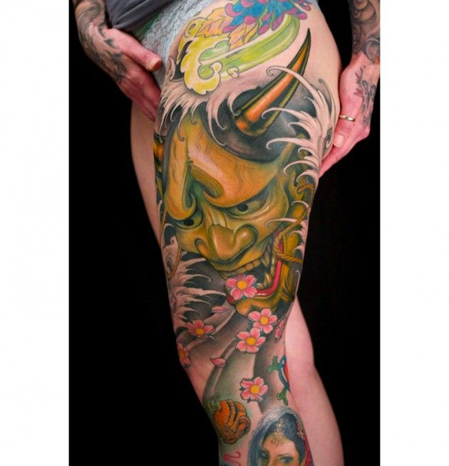 really good.: Tattoo Ideas, Jeff Gogue, Hannya Masks Tattoo, Tattoo Artists, Tattoo Inspiration, Body Art, Hanya Masks Tattoo, Japan Tattoo, Tattoo Ink