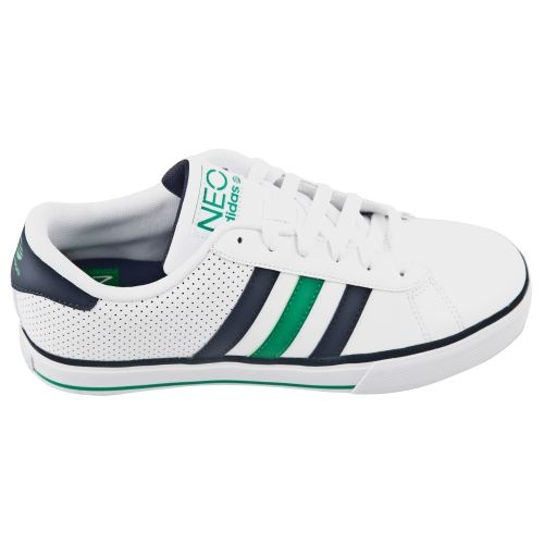 adidas neo derby ii mens trainers navy blue