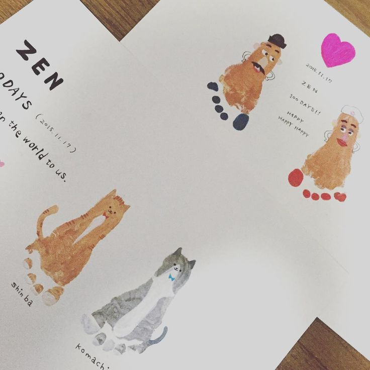 いいね!54件、コメント13件 ― 太田舞子さん(@maico0918)のInstagramアカウント: 「やりたかったPart3 足型アート!!! ポテトヘッドやりたくて、でも猫たちもやりたくて… 悩んだ末どっちもやった⊂(^ω^)⊃ はぁー満足。 絵心ないからこれが精一杯。笑…」