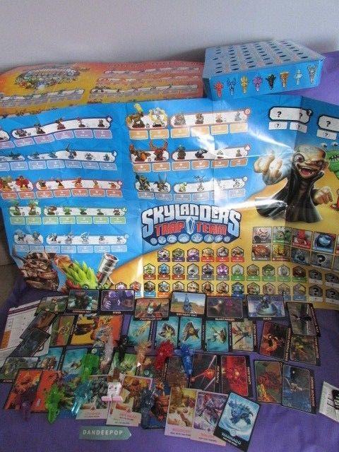 Nintendo Wii Skylanders Huge Lot 42 Cards Plus 12 Traptanium Crystals & Posters #Nintendo #wii #skylanders #tradingcards #traptaniumcrystals #videogame #dandeepop Find me at dandeepop.com