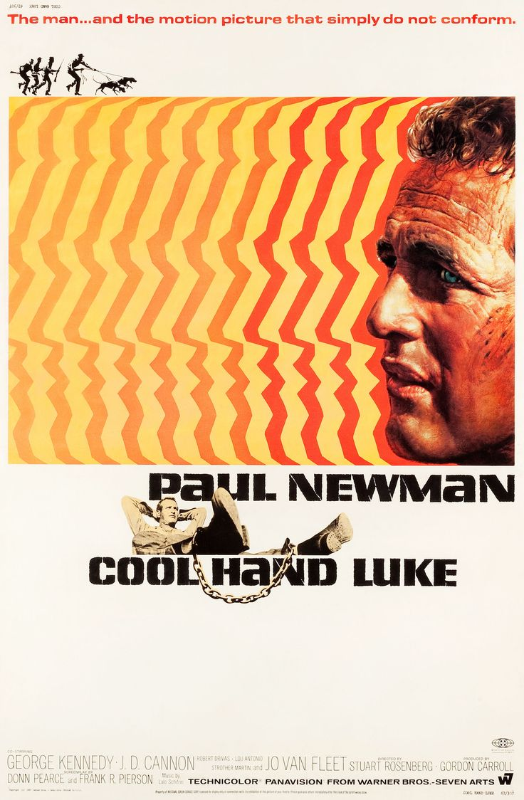 Cool Hand Luke, USA 1967, Cdirected by Stuart Rosenberg, starring Paul Newman