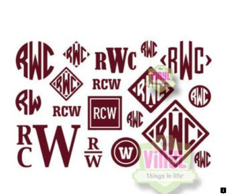 Read About Titleist Click The Link For More Our Web Images Are A Must See Monogram Stickers Mens Monogram Initials Decal