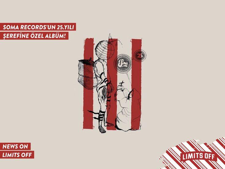 Soma Records'ın 25. yılı şerefine hazırlanan derleme albüm için Robert Hood, Jeff Mills, Daft Punk ve Kobosil gibi isimler kolları sıvadı! Beklenen albüm 31 Mart'ta dinleyiciyle buluşuyor.