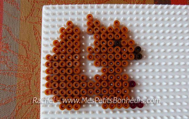Squirrel hama perler by Rachel