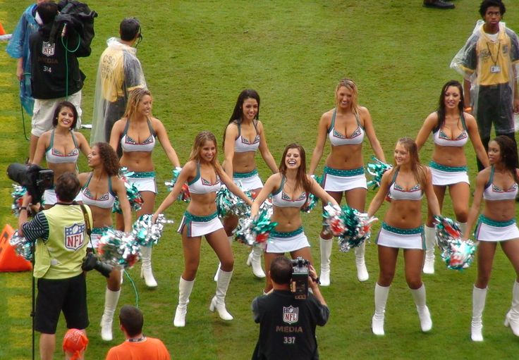 Always wanted to be a Miami Dolphins Cheerleader