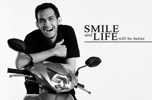 Smile and life will be better