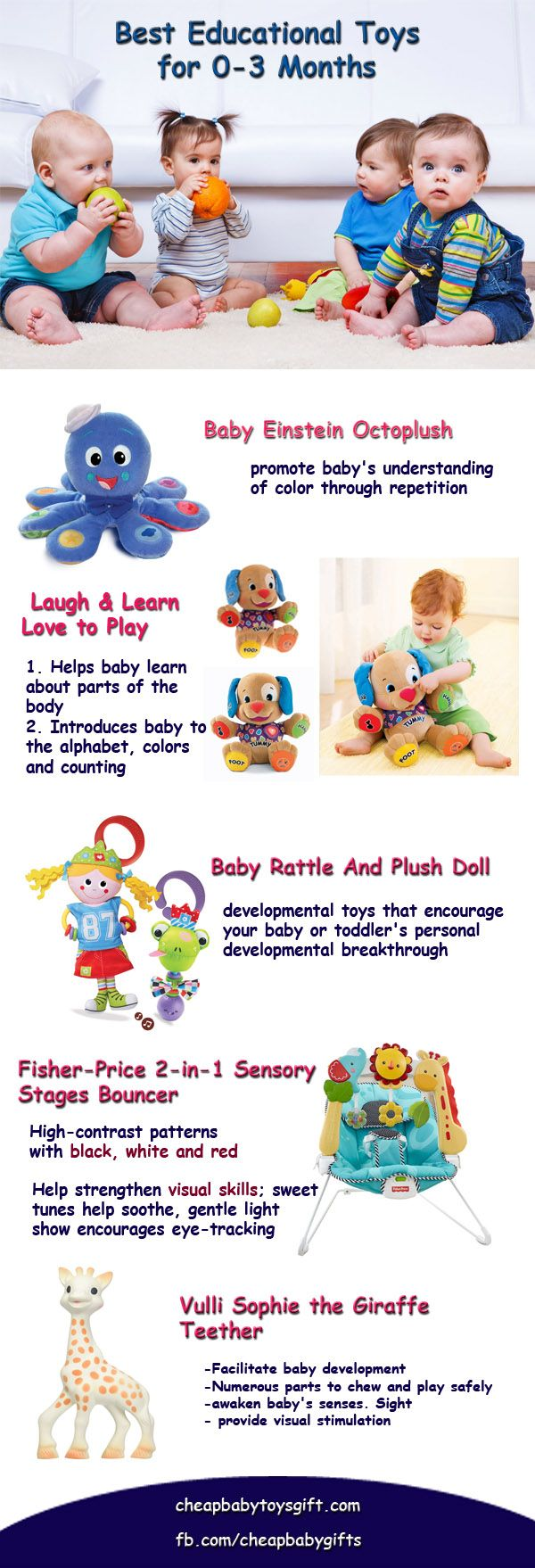 Toys for newborns: how to choose the right mobile for a child, developing a mat and the first rattle