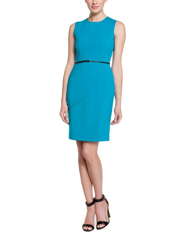 Calvin Klein Lagoon Tulip Skirt Dress is on Rue La La for $39.99