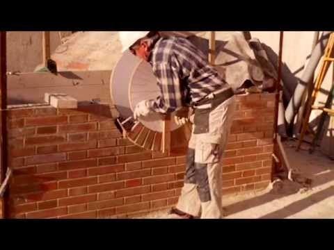 Construcción ventana ojo de buey 1ª parte, ladrillo obra vista nº 79.wmv